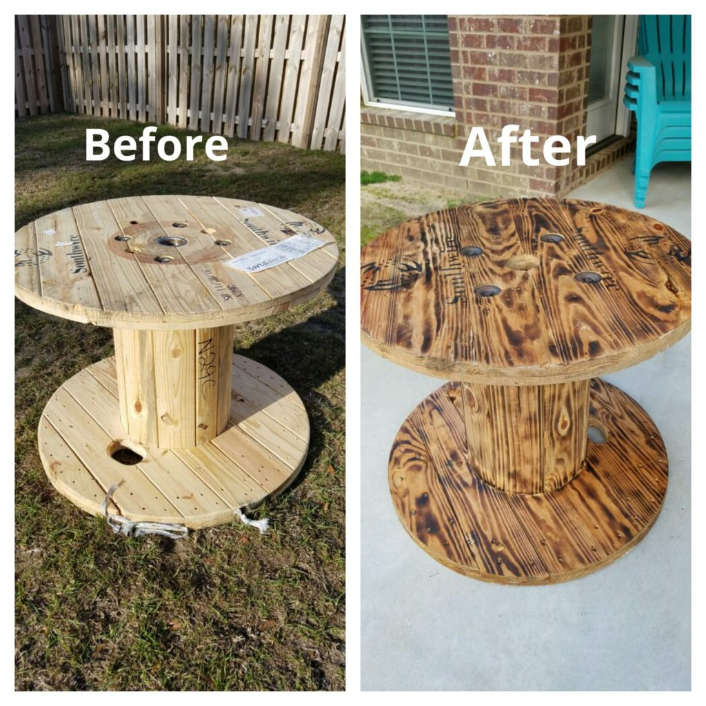 Upcycle Wooden Spools Diy